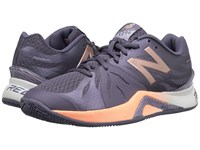 New Balance Wc1296v2 Deep Cosmic Sky Sunrise Women's Tennis Shoes Purple