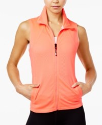 Tommy Hilfiger Sport Perforated Vest A Macy's Exclusive Vibrant Pink