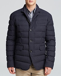 The Men's Store At Bloomingdale's Woven Anorak Jacket Bloomingdale's Exclusive Heather Navy