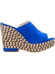 Paloma Barcelo 'Clare' Mules Blue