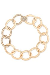 Pomellato Tango 18 Karat Rose Gold Diamond Bracelet One Size