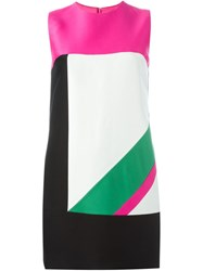 Dsquared2 Color Block Dress Multicolour