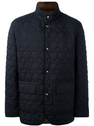 Z Zegna Quilted Padded Jacket Black