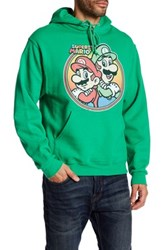 Fifth Sun Mario Brothers Hoodie Green