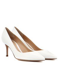 Gianvito Rossi Exclusive To Mytheresa.Com 70 Patent Leather Pumps White