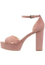 Unisa Verdo Platform Sandals Lambrusco Rose