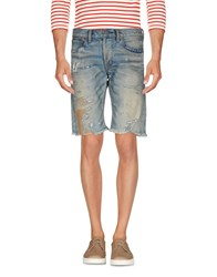 Denim And Supply Ralph Lauren Bermudas Blue