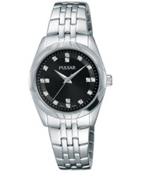 Pulsar Women's Night Out Stainless Steel Bracelet Watch 28Mm Ph8143