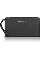 Michael Michael Kors Essentials Textured Leather Pouch