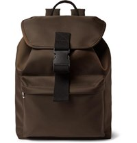 A.P.C. Shell Backpack Chocolate
