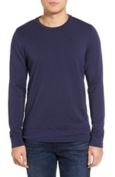 Velvet By Graham And Spencer Men's Soren Sweater Neptune