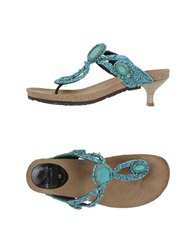 Maliparmi Thong Sandals Black