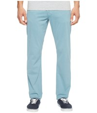 Ag Adriano Goldschmied Graduate Tailored Leg Twill In Yacht Blue Yacht Blue Men's Casual Pants
