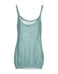 Maria Grazia Severi Topwear Vests Women Light Green