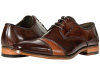 Stacy Adams Talbot Brown Tan Men's Lace Up Cap Toe Shoes