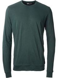 Kolor Crew Neck Sweater Green