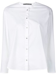 Transit Round Neck Shirt White