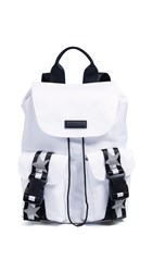 Kendall Kylie Ashley Backpack White