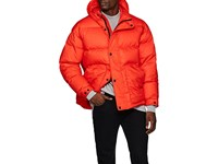 Ienki Ienki Tech Cotton Down Quilted Puffer Jacket Red