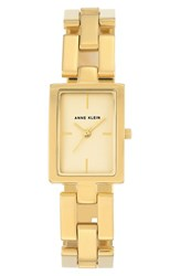 Anne Klein Women's Rectangular Bracelet Watch 21Mm