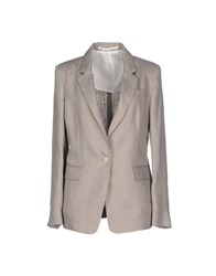 M.Grifoni Denim Suits And Jackets Blazers Women Light Grey