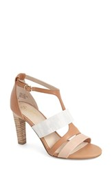 Women's Seychelles 'Dress Code' T Strap Sandal Luggage Multi Leather