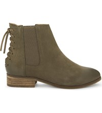 Aldo Boudinot Suede Ankle Boots Khaki