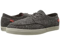 Reef Deck Hand 2 Tx Charcoal Tweed Men's Lace Up Casual Shoes Black