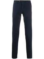 Eleventy Slim Fit Straight Leg Trousers 60
