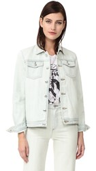 A.P.C. Shirley Denim Jacket Bleached Out