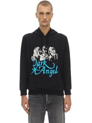 Nasaseasons Dark Angel Cotton Sweatshirt Hoodie Black