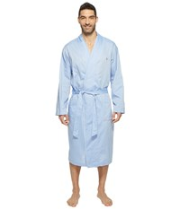 Polo Ralph Lauren Oxford Pj Robe Blue Royal Men's Robe