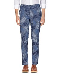 Obvious Basic Casual Pants Slate Blue