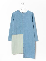 Aries Patchwork Denim Fun Dress