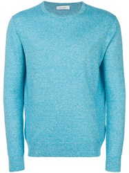Cruciani Long Sleeved Sweater Blue