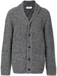 Closed Chunky Knit Cardigan Wool S Grey