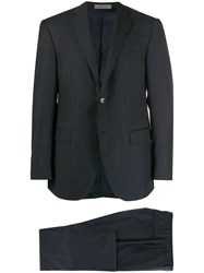 Corneliani Single Breasted Suit Blue