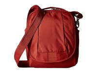 Pacsafe Metrosafe Ls200 Shoulder Bag Vintage Red Shoulder Handbags