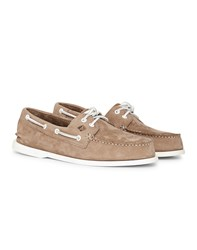 Sperry Top Sider Washable Nubuck Boat Shoe Grey