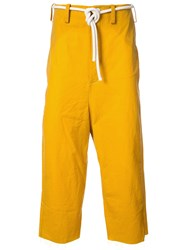 Toogood The Sculptor Trousers Yellow And Orange