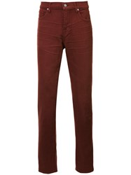 7 For All Mankind 'The Slimmy' Jeans Red