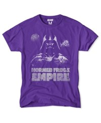 Tailgate Clothing Men's Tcu Horned Frogs Darth Vader Empire T Shirt