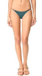 Jade Swim Bare Minimum Bottoms Deep Teal
