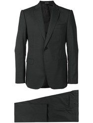 Emporio Armani Two Piece Suit Grey