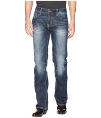 Rock And Roll Cowboy Reflex Pistol In Dark Wash M1p5132 Dark Wash Jeans Navy