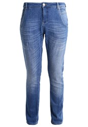 Opus Lotty Relaxed Fit Jeans Indigo Blue