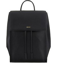 Dkny Chelsea Vintage Leather Backpack Black