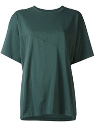 Maison Martin Margiela Mm6 Extra Sleeve T Shirt Green