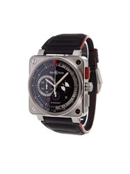 Bell And Ross 'B Rocket' Analog Watch Stainless Steel