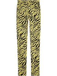 Gucci Denim Skinny Pant Yellow